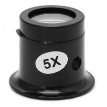 5X Monoküler Büyüteç / Lens Büyüteç