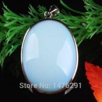 Opal Taşlı Kolye Ucu