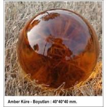 Amber Küre - 40 mm