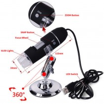 2MP 1000X 8 LED Işık USB..