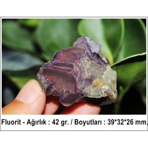 Fluorit Kristali - 42 gr.