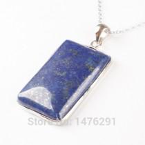 Doğal Lapis Lazuli Kolye Ucu