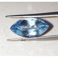 Mavi Topaz Fasetli